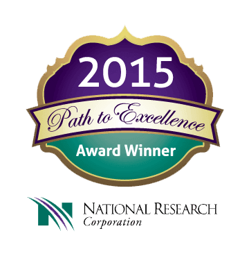 2015 Path to excellence award winner