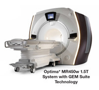 Optima MRI machine